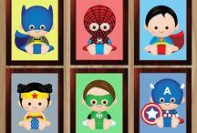 babies super heroes