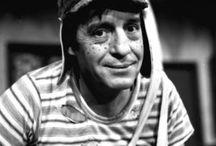 El chavo, chespirito, el chapulin colorado / divertidas imágenes con los personajes de Roberto Gómez Bolaños.