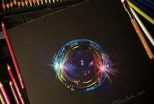 색연필/펜일러