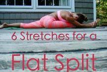 Estiramientos para ganar flexibilidad.