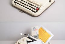 My new obsession...vintage typewriters