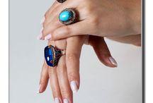 Anéis Turquia / Anéis com pedras e Bronze!