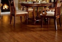 Laminate Floors / It's hard to tell the difference, isn't it?  Updated technology makes laminate flooring extremely difficult to differentiate from hardwood.  Don't worry about taking your boots off when you walk through the door.; laminate floors are one of the easiest flooring materials to clean.