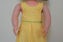 Sewing for American Girl Dolls / Patterns and ideas for American Girl doll clothes