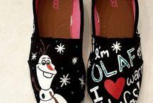 scarpe frozen