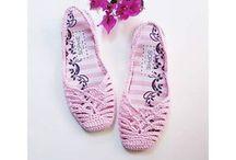 sandalias de croche