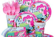 My Little Pony Party / My Little Pony is as popular as ever so use this board to bring the magic to life. We've got all the party supplies and ideas you need!