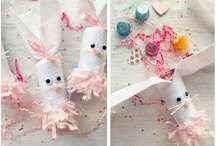 Spring / Spring and Easter inspiration - spring decor, Easter parties, festive snacks.