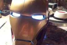 Iron Man Props / Custom replicas about Iron man movies and comics
