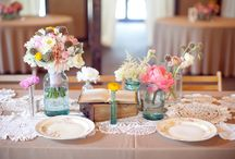 tablescapes / by Heather Wamble