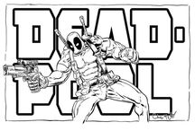 7 Deadpool Coloring Pages