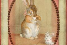 кролики,  мышки