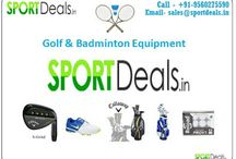 Golf Sets | Golf Balls | Golf Equipment India : SportDeals.In / Sport Deals is an authorized online retailer of new badminton and golf equipment's like golf balls, golf sets from leading manufacturers including Callaway, Taylor Made, Cobra, titleist, Nike, Cleveland, Li-Ning, Yonex etc.