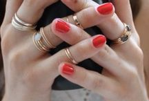♥ nailed red / by βεllε ♕