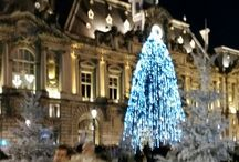 french Christmas landscapes