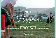 Happiness Project / We were decidedly unhappy in our day to day lives so we looked at all the areas that were making us unhappy and decided to change. #whole30 #yoga #walking #sleep