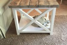 Customer Ideas - Lyndsey / Collaboration with Lyndsey for ideas on end tables