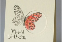 Stamps, Ink & Paper - Butterfly Cards