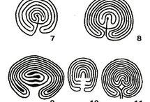 Ancient spiral labyrinths