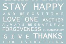 Statements / Mooie uitspraken voor iedere dag