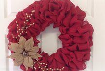 Wreath ideas! / by Karlee Prophet