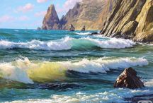 paisajes de mar