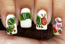 Book Nail Art / Enjoy a glance of art on your hands