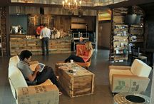 Desain interior : coffee house