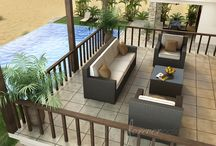 Beautiful Wicker Patio Furniture / Huge selections of patio wicker furniture - http://www.americanrattan.com/rattan-outdoor.html