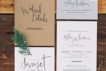 | Wedding Stationery and Paper Goods | / Wedding paper goods