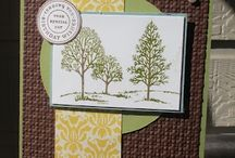 Stamping up Lovely as a tree Stamps