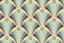 DECO / Estampas, padrões, ilustrações no estilo deco.