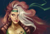 X-Men: Rogue / by Indhi