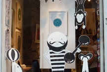 window DISPLAYS. / by Little Retreats