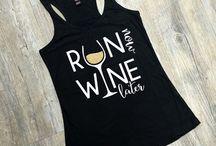 Run/Wine Shirts