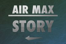 AIR MAX STORY / My illustration of six pair of Nike that have made the history of Air Max and sneakers. Enjoy.. Rix
