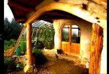 Handmade bohemian houses