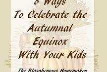 Holidays: Mabon / fall equinox