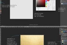 aplicar texturas con Photos shop