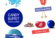 Nautical Candy Buffet