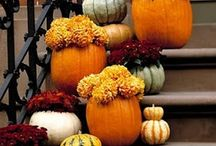 Don't throw away the pumpkins! / After Halloween keep the pumpkins and switch up the decor.