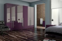 Purple / Plum / Aubergine  Inspired Bedrooms / Purple Colour Trends: Bedrooms. A range of purple inspired bedroom looks from BA Components http://byba.co.uk/product-category/bedrooms/