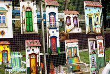 Mini-Houses / Wall art