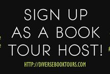Diverse Book Tours / Virtual Blog tour company in support of diverse Books!