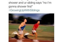 Sibling problems