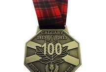 Custom Highland Games Medals / We've been a supplier of Highland Games medals for over 20 years.
