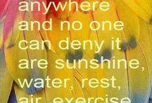 Nature heals.
