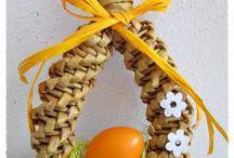 velkonočné pletenie