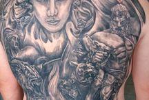 made by me - Greek mythology tattoos