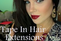Hair Extension Videos / Videos showing reviews of Glam Seamless tape in hair extensions, care tips and tricks and info for salons looking to carry our product line.